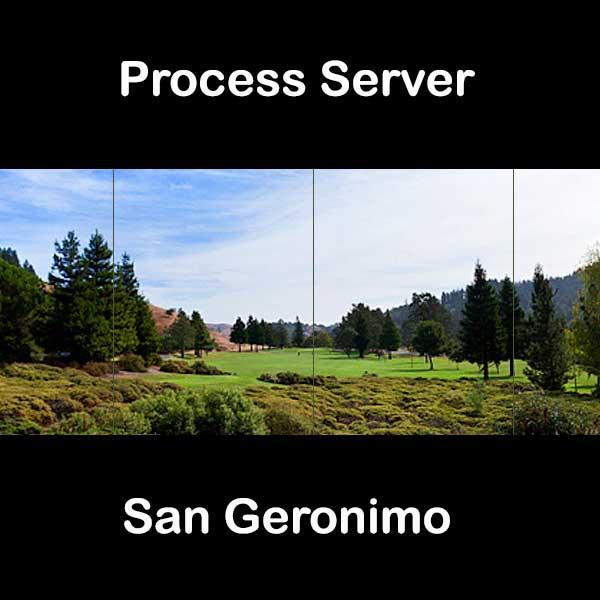 Process Server San Geronimo