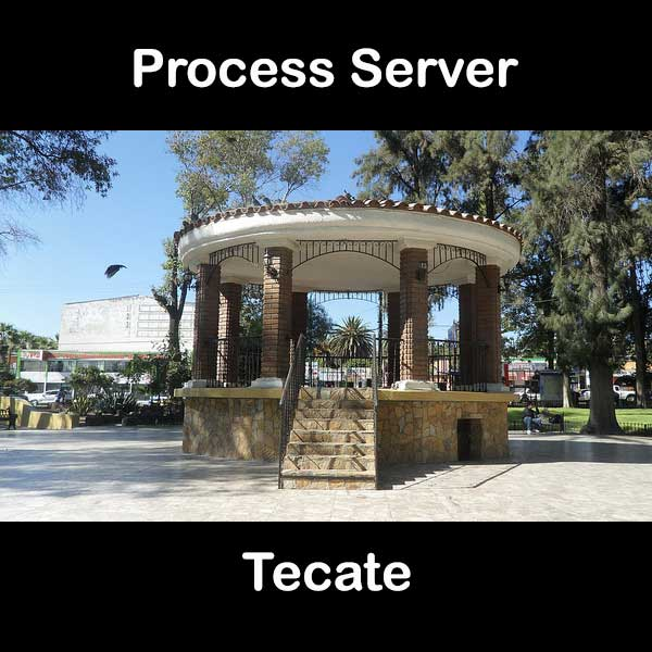 Process Server Tecate