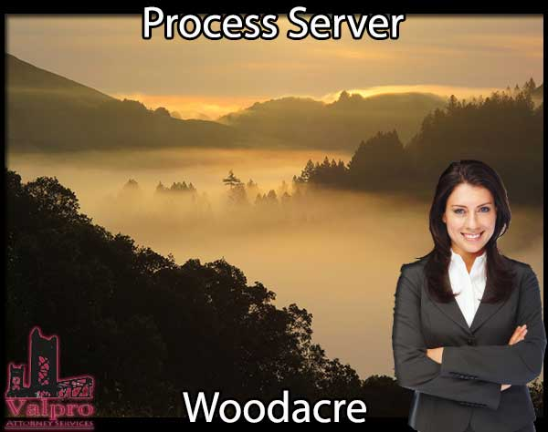 Process Server Woodacre