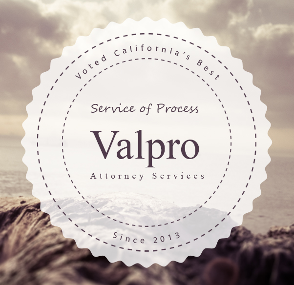 Sacramento Process Server - Valpro Attorney Services