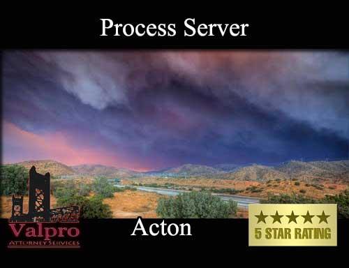 Process Server Acton