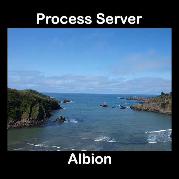 Process Server Albion