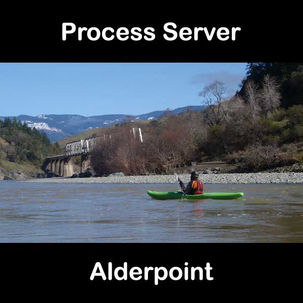 Process Server Alderpoint