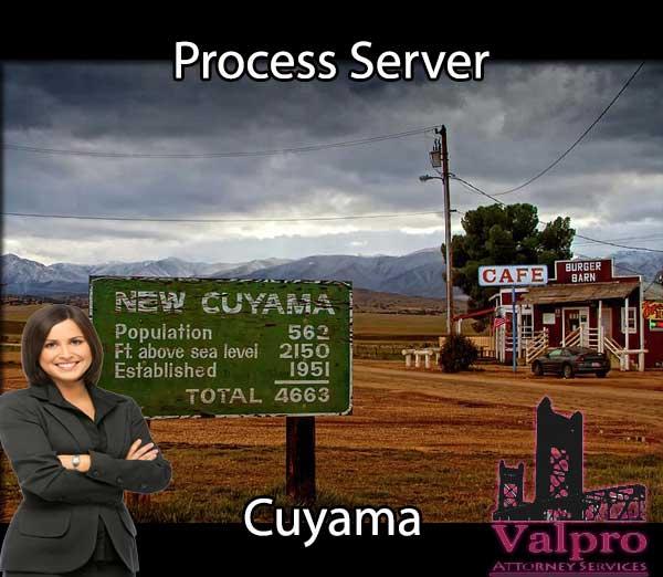 Process Server Cuyama