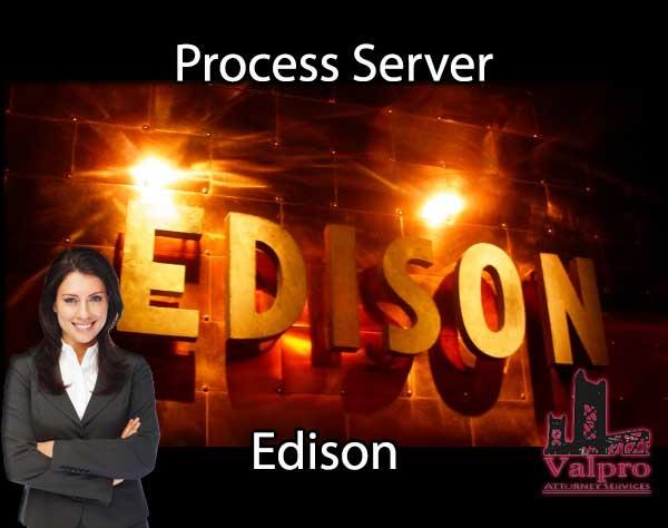 Process Server Edison