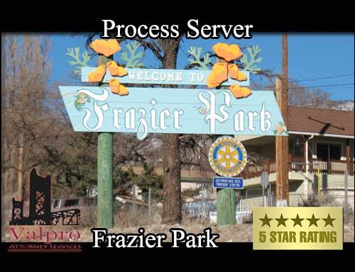 Process Server Frazier Park