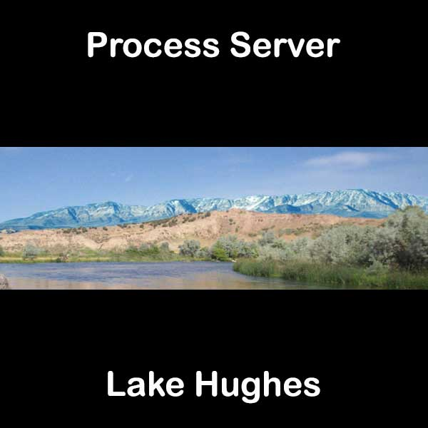 Process Server Lake Hughes