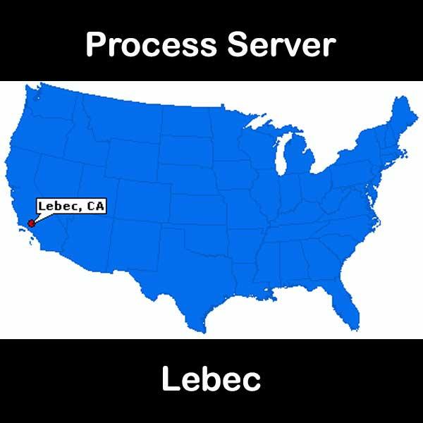 Process Server Lebec