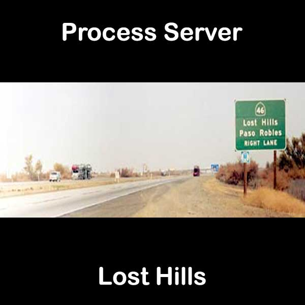 Process Server Lost Hills