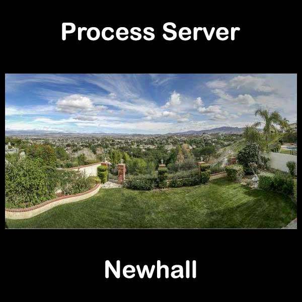 Process Server Newhall