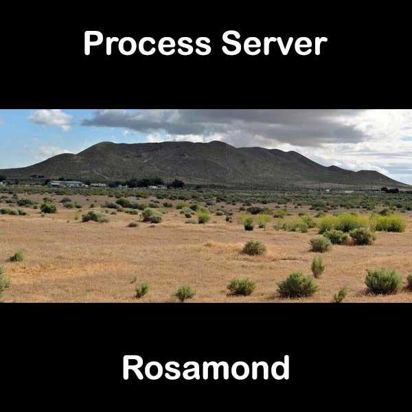 Process Server Rosamond