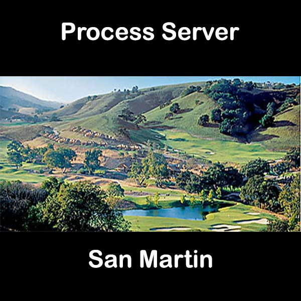 Process Server San Martin