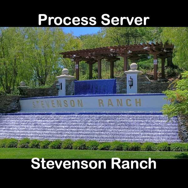 Process Server Stevenson Ranch