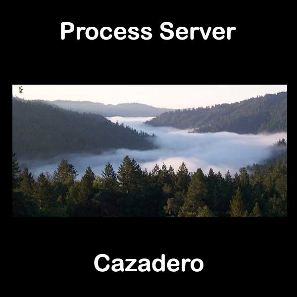Process Server Cazadero