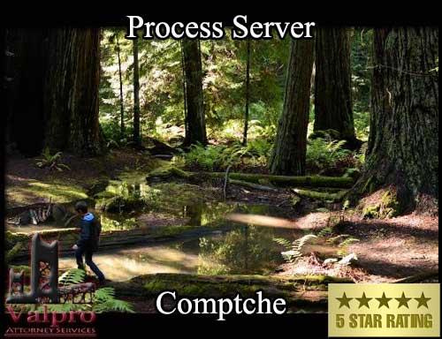 Process Server Comptche