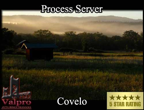 Process Server Covelo