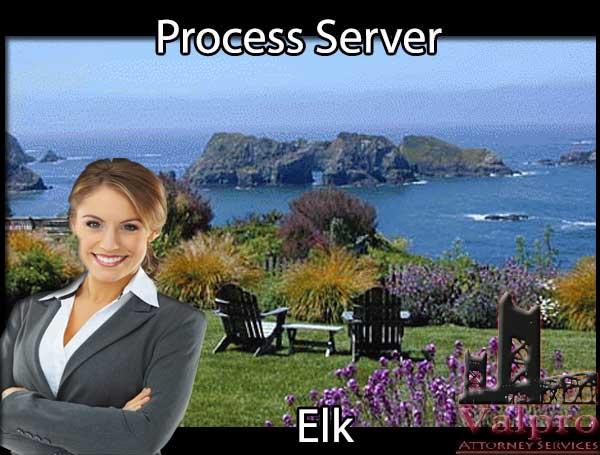 Process Server Elk