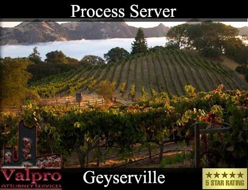 Process Server Geyserville