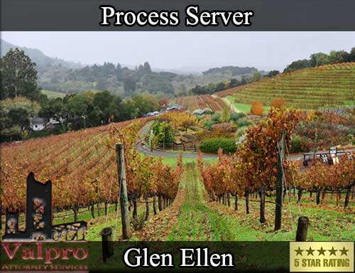 Process Server Glen Ellen