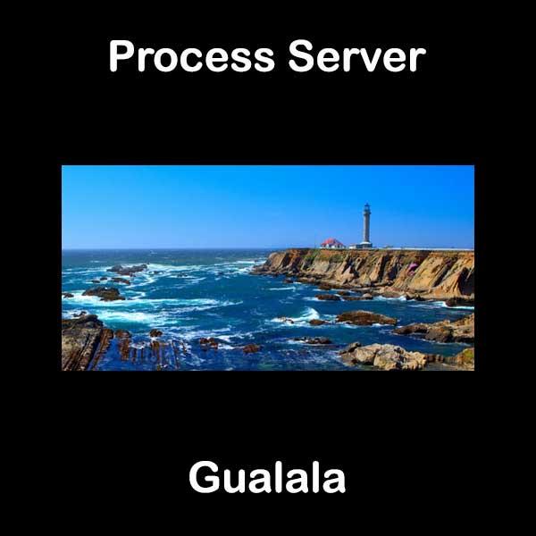 Process Server Gualala
