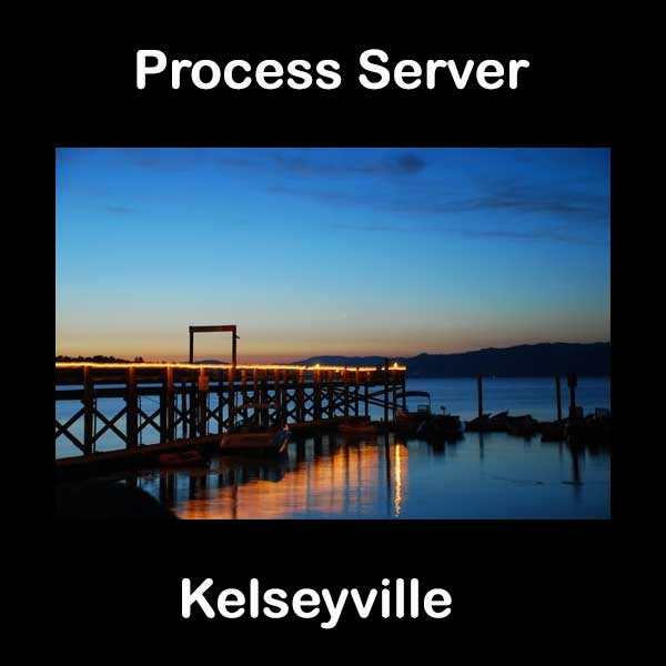 Process Server Kelseyville