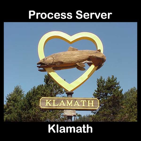 Process Server Klamath