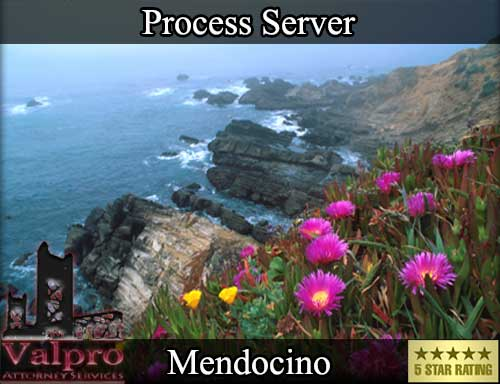 Process Server Mendocino