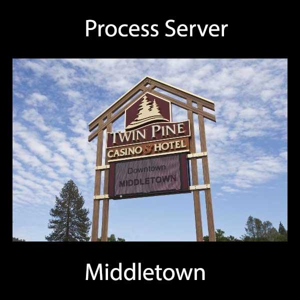 Process Server Middletown