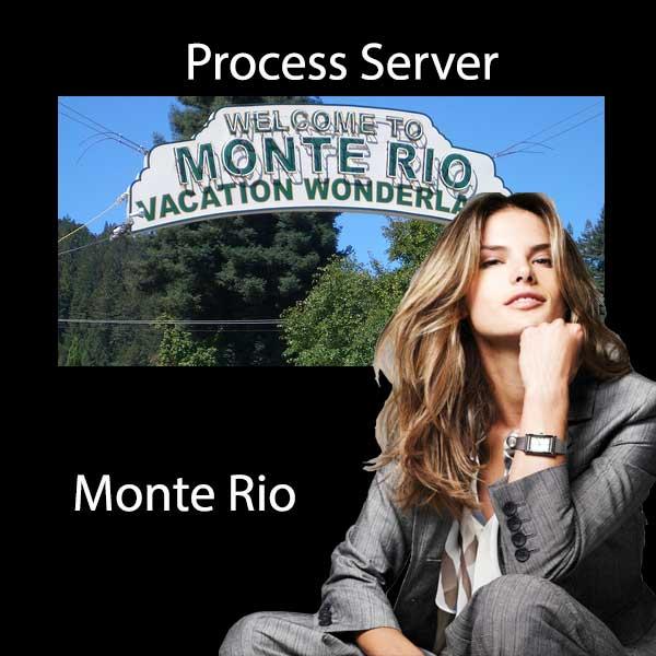 Process Server Monte Rio