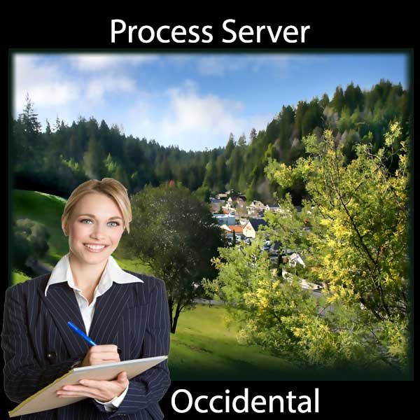 Process Server Occidental