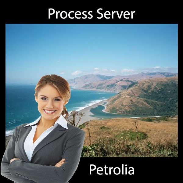 Process Server Petrolia