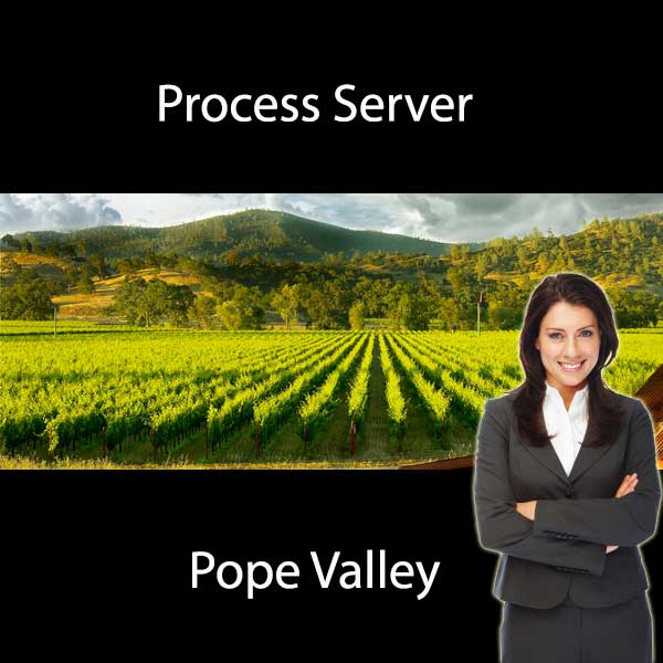 Process Server Pope Valley
