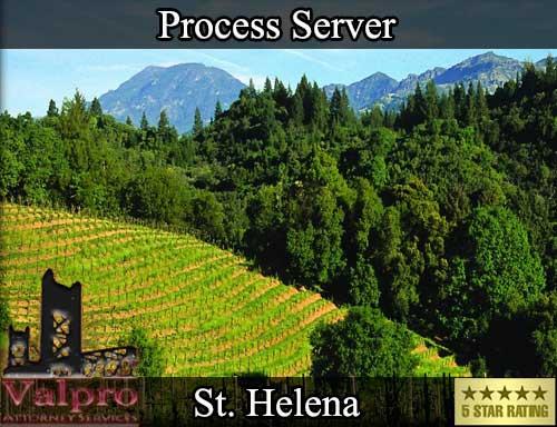 Process Server Saint Helena