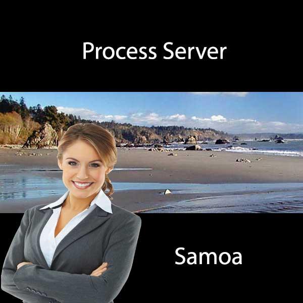 Process Server Samoa