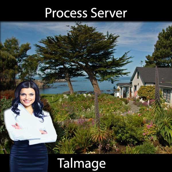 Process Server Talmage