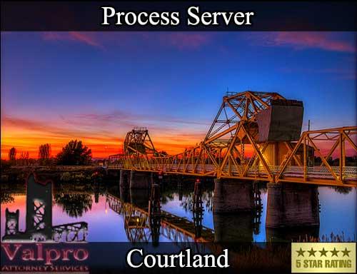 Process Server Courtland