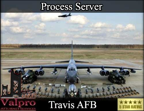 Process Server Travis Afb