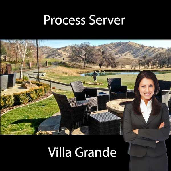 Process Server Villa Grande