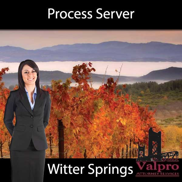 Process Server Witter Springs