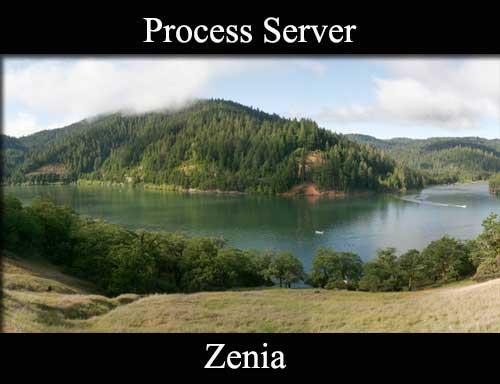 Process Server Zenia