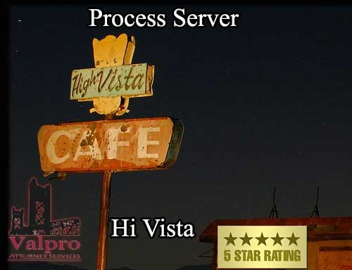 Process Server Hi Vista