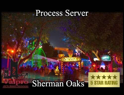Process Server Sherman Oaks
