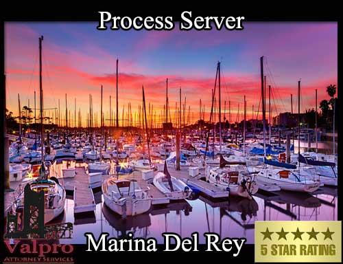 Process Server Marina Del Rey