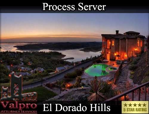 Process Server El Dorado Hills