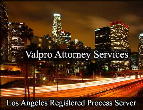 Los Angeles Registered Process Server