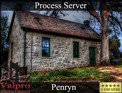Penryn California Registered Process Server