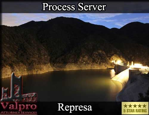 Represa California Registered Process Server