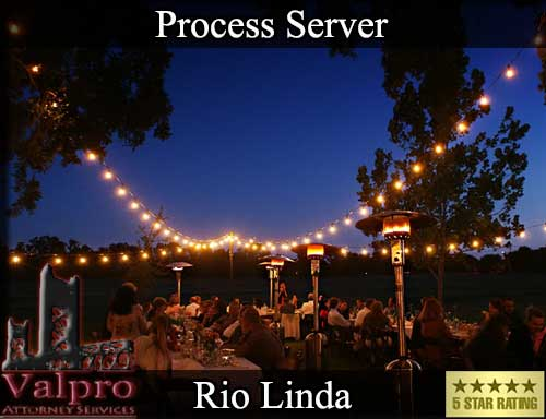 Rio Linda California Registered Process Server