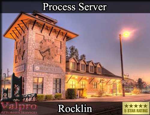 Rocklin California Registered Process Server