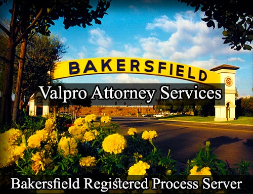 Registered Process Server in Bakersfield